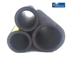 Manguera de aceite de manguera de caucho resistente al aceite y superficie rugosa de caucho de neopreno negro