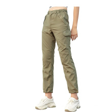 Women′s Lightweight Upf40+ UV Protection Quick-Drying Casual Pants