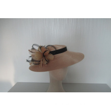 NEW-Women's Satin Church Fascinators Hats --YJ88