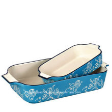 Hand-Painting Color Glazed Bakeware