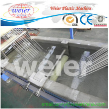 Double équipement de granulation de brin de refroidissement par l'eau d'extrudeuse de vis