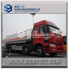 FAW 8X4 camión cisterna de petróleo 30000L para la venta