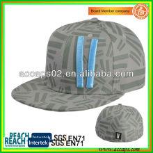 100% acrílico Snapback sombreros gris SN-1220