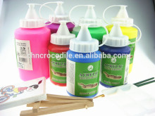 250ml exterior paint, bright colour acrylic paint, fast drying acrylic paint, EN71-3,EN71-9