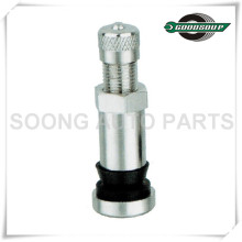 TR416SSS Tubeless Metal Camp-in Tire Valves with Chromed Cap
