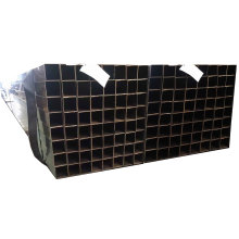 hollow rectangular tubes !  32mm 65mm 75mm oiled coated furniture black annealed tube to west Africa market