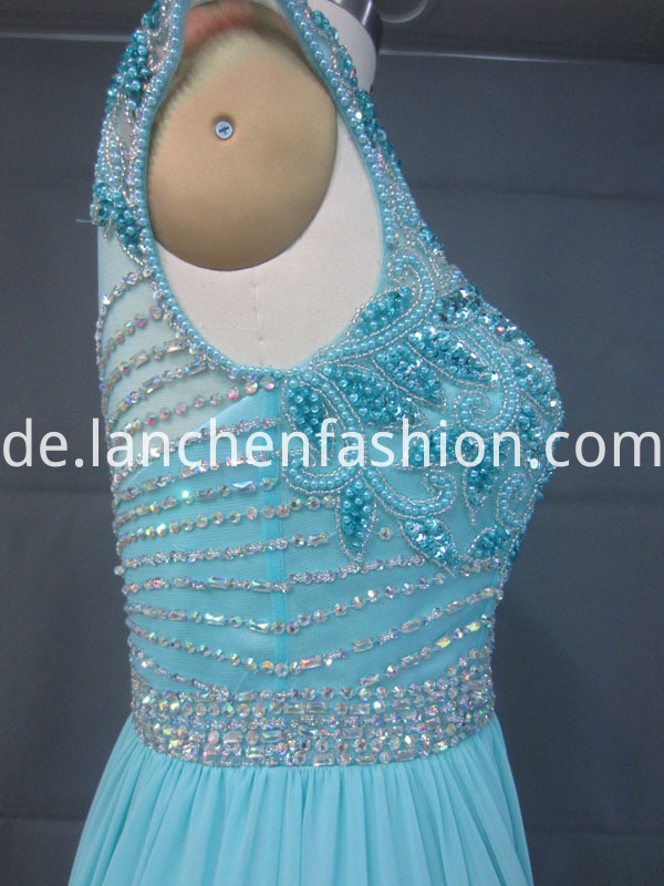 Bead Long Dress