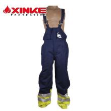 La sécurité ignifuge de nouveau style a employé le pantalon de bavette de travail de Fr
