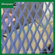Amplamente utilizado 1x1.8mm alumínio expandido malha metálica / malha de arame para filtro