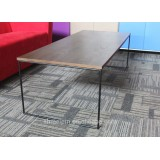Simple Style Wooden Top and Metal Leg Coffee Table of High Quality