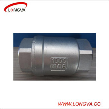 Sanitary Stainless Steel Vertical Lift Check Valve