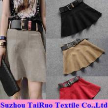 Micro Gamuza para Fashion Lady Dress Fabric