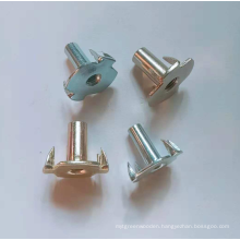Color zinc plating Symmetric claw Half thread Nuts