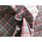 75D*75D yarn dye check polyester fabric with WR, used for jackets