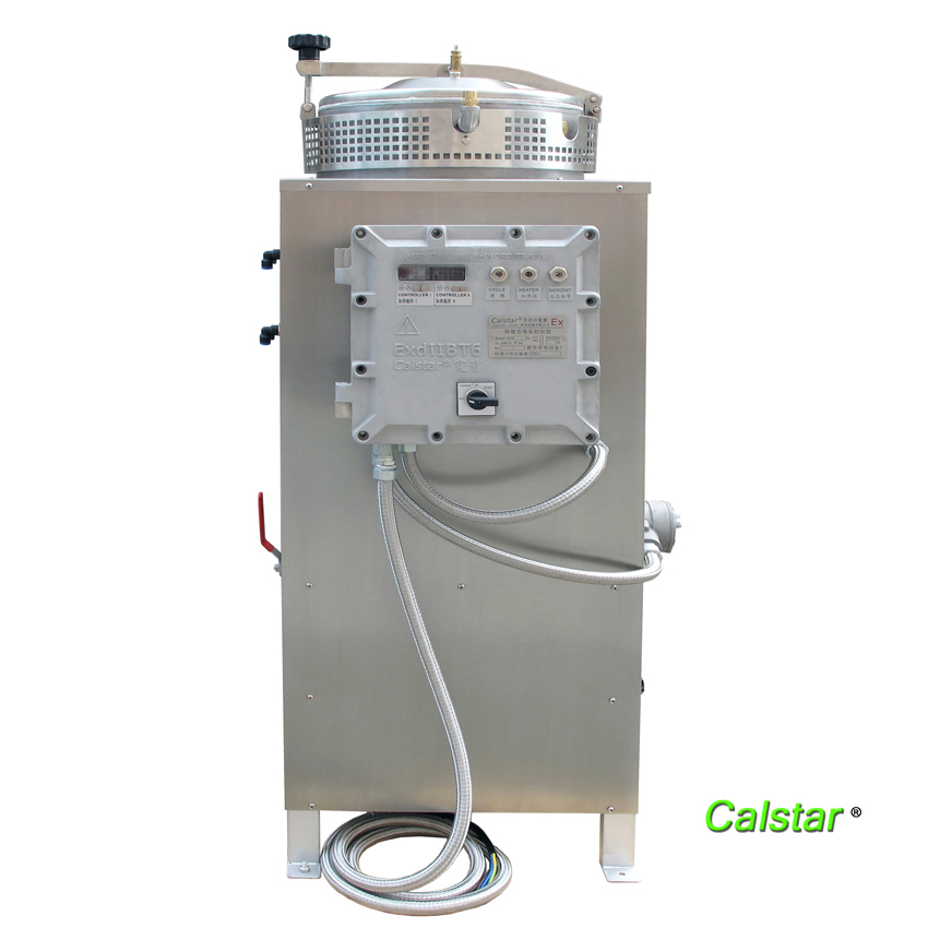 Chemical solvent recovery machine