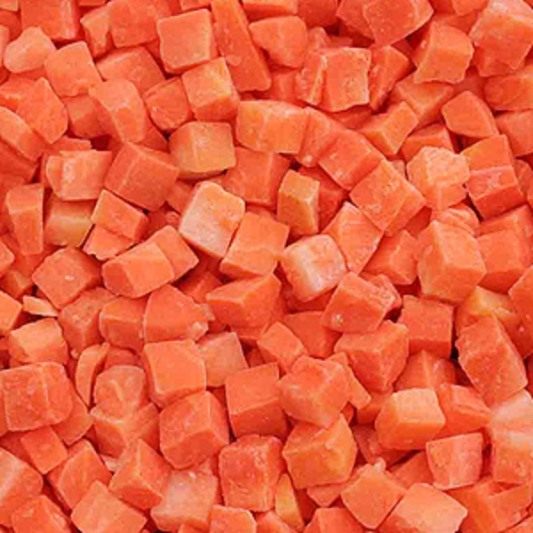 Diced Frozen Carrots for Sale