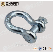 Us Type Drop Forged Screw Pin Bow Shackle---209 Shackle