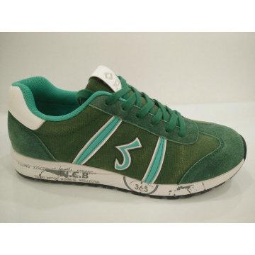Zapatillas de running Green Cow Suede Comfort Fitness para hombre