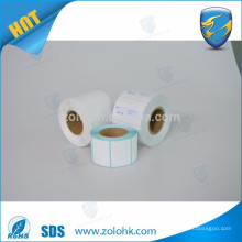 Blank 80 x 80 80gsm pos thermal paper roll for bank deposits machine