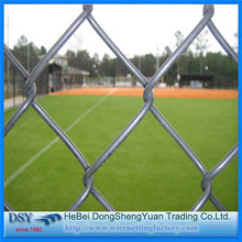 Plastic Coated Square Chain Link Mesh