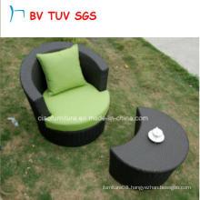 UV Proof Hotel Furniture Single Sofa with Coffee Table