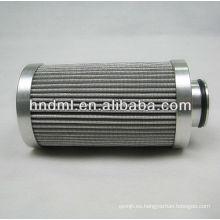 El reemplazo del elemento del filtro de aceite hidráulico FILTREC D770G10A, elemento del filtro del excavador