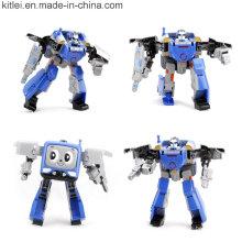 Figura feita sob encomenda do robô da fábrica Brinquedos plásticos do robô do PVC da fábrica