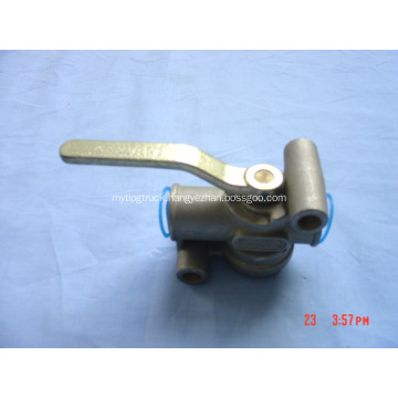 Trailer shut off valves