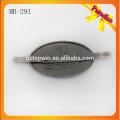 MB293 Latón antiguo de encargo Etiqueta de la marca de fábrica del metal con el diente para la señora Handbag