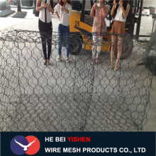 Gabion wire mesh for protecting dam