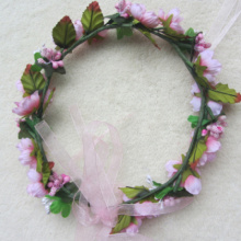 Artificial Flower Head Wreath Garland For Wedding Prom Party And Christmas Decoration