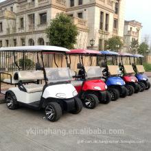 CE-Zertifizierung neueste ezgo 4 seatser elektrischen Golfwagen verwendet Golfschläger