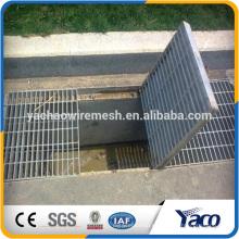 dren de piso galvanizado en caliente de la rejilla de acero, cubierta de drenaje al aire libre