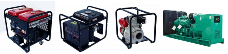 6KW Gasoline Generator for home back up
