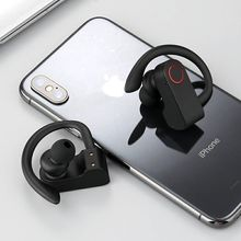 TWS Bluetooth Earhook Headset With Charging Case