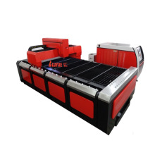 Máquina de corte a laser de venda de fábrica para chapas metálicas