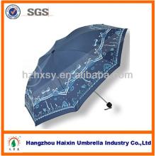 Benutzerdefinierter Druck kleiner Regenschirm