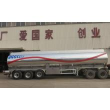 Aluminum Fuel Tank Semi-Trailer with 3 axles