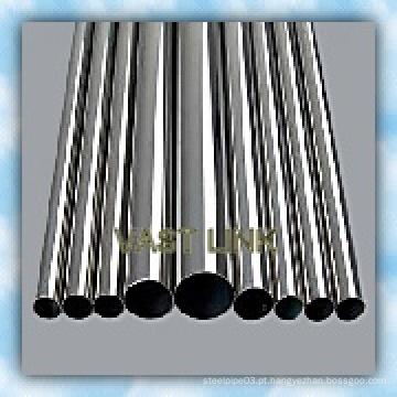 Tubo de aço soldado inoxidável de venda quente para decoração