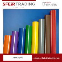 HDPE PE100 y PE32 HDPE Tubos con alta capacidad de estiramiento de calidad