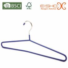 Perchas de metal de alta calidad para la suspensión de recubrimiento de PVC (TS257)
