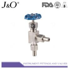 Válvula de parada de padrão de ângulo e de aço inoxidável