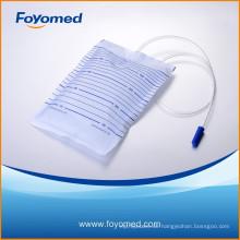 Best-Verkauf und große Qualität 2000ml Harndrainage Tasche mit CE, ISO-Zertifizierung