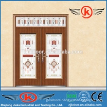 JK-C9049 stylish painting decorative antique bronze copper coated door