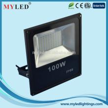 Hight Power neue ultra dünne 100W führte Flutlicht IP66 Aluminium Außenbeleuchtung