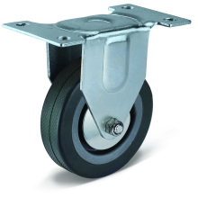 12 Series PVC Flat Bottom Fixed Casters