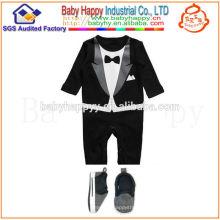 Оптовые дешевые новомодные малыши детские костюмы для новорожденных