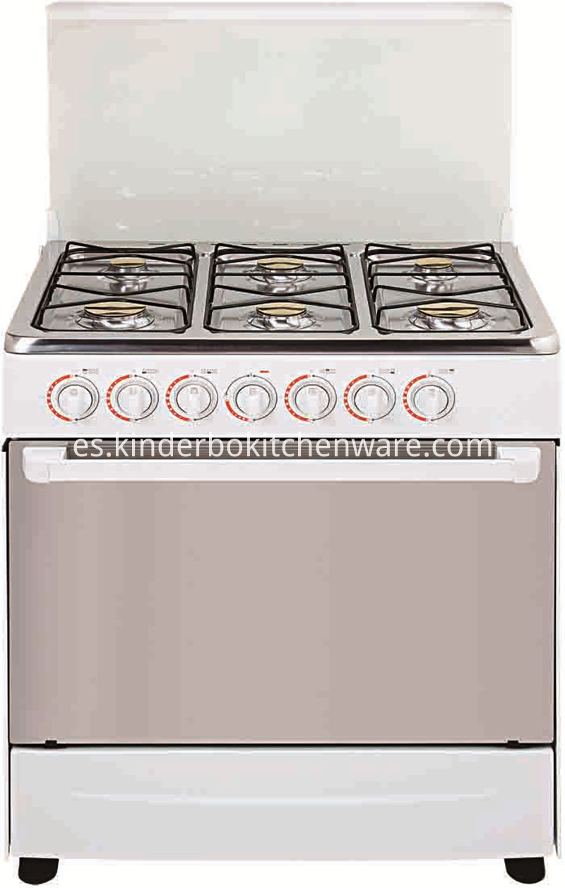 Home Appliance Table Gas Stove with 4 Burners Gas Stove with Oven