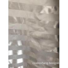100% polyester satin stripe jacquard dobby fabric