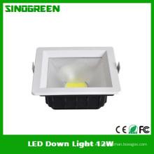 Ce RoHS alta calidad COB LED Down luz